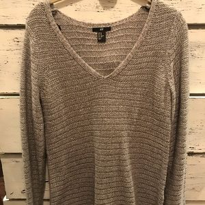 H&M over sized grey sweater
